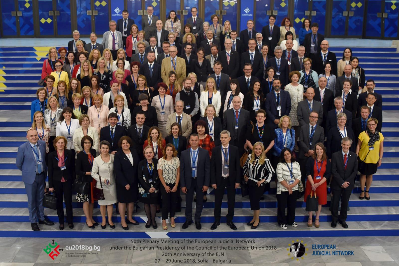 50th Plenary of the European Judicial Ne...