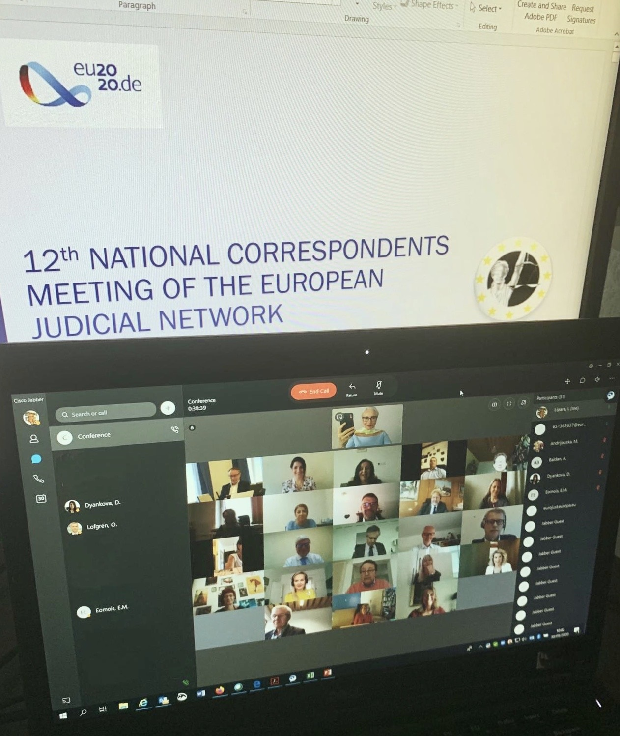 12th National Correspondents Meeting of ...